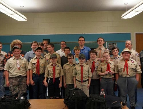 Plainfield Boy Scouts Undergo Training